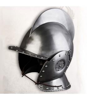 Capacete Burgonet Sigismund, século 16