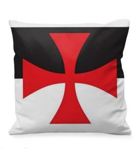 Cojín medieval Cruz Templaria Paté