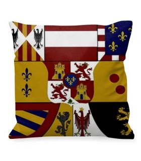 Almofada medieval Escudo de los Borbones