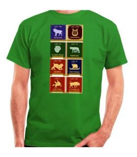 T-shirt de legiões romanas, manga curta