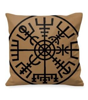 Cojín Vegnisir, el Compas Vikingo mágico