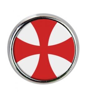 Pin metálico Cruz Caballeros Templarios