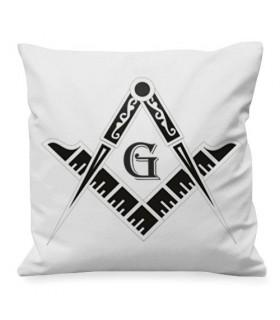 Cojín Masones Escuadra y Compás