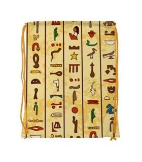 Mochila de corda egípcia impermeável (34x42 cms.)