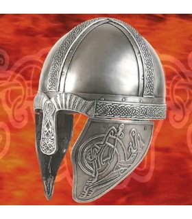Capacete Viking Decorado