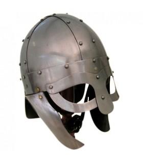 Capacete Viking, com Máscara e proteções