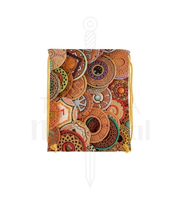 Mochila de cordas Runas Celtas (34x42 cms.)