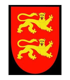 Bandeira medieval Ricardo Corazón de León