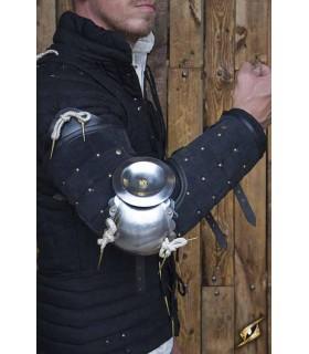 Proteção completa de um braço de Paladino, preto