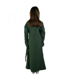 Vestido-Túnica medieval para menina