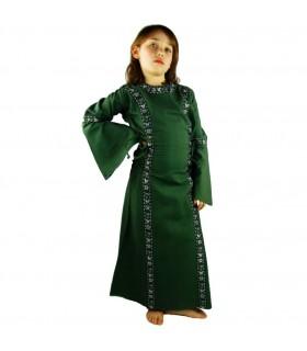 Vestido medieval para meninas
