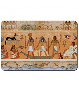 Ímã flexível, retangular, com Ícones Egípcios