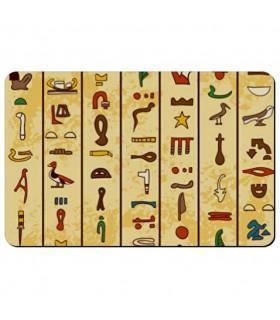 Ímã flexível, retangular Hieróglifos Egípcios