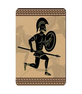 Ímã flexível Guerreiro Espartano