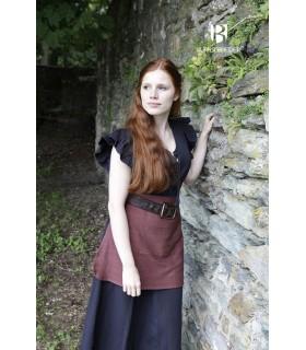 Vestido Medieval Mulher Agga Preto