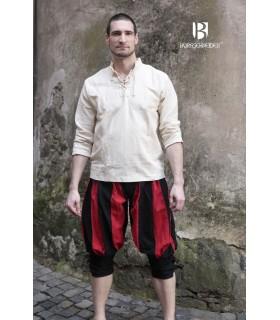 Calças de fato de treino Maximilian, vermelho-preto