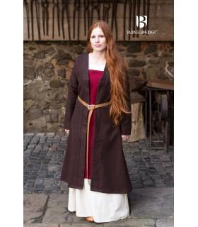 Brial Medieval Aslaug Marrom de Lã