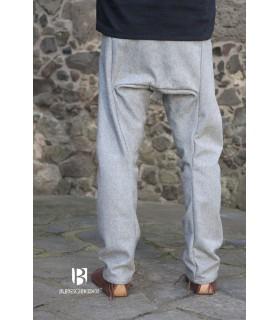 Calças medievais Thorsberg, cinza