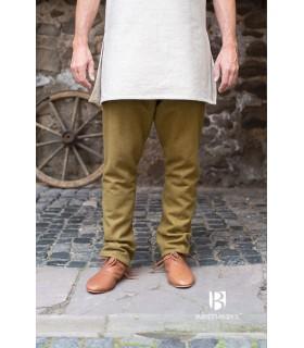 Calças medievais Thorsberg, mostarda
