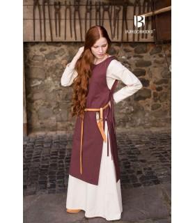 Sobrevesta Medieval Mulher Haithabu Marrom