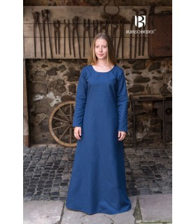 Túnica medieval Freya, azul