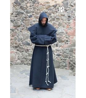Traje de Monge medieval Benediktus, preto