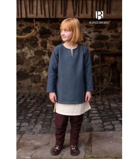Túnica medieval para crianças, Ericson cinza