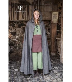 Camada medieval lã Hibernus, cinza