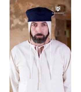Gorro medieval Hugo, azul