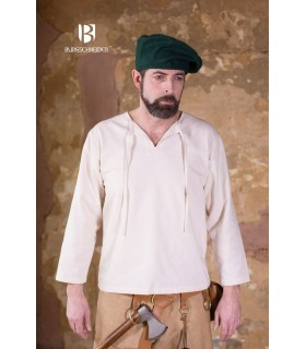 Chapéu renascentista Harald, verde