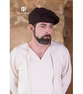 Chapéu renascentista Harald, marrom