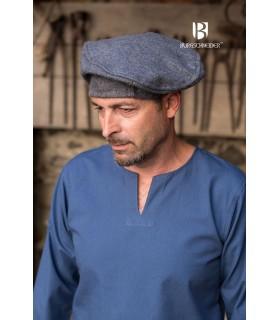 Chapéu renascentista Harald, cinza