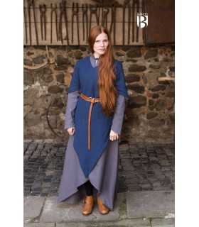 Túnica medieval Laylin, azul