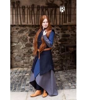 Túnica mulher Meril, lã azul