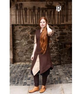 Túnica mulher Meril, lã marrom