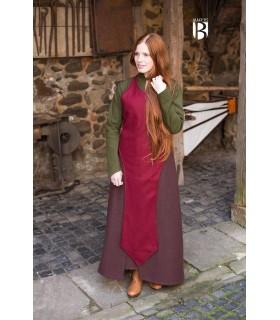 Avental medieval Apron, lã vermelha
