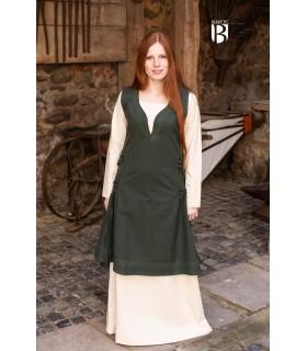 Vestido medieval Lannion, verde