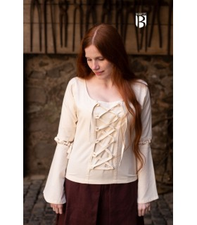 Fatos medievais masculinos, mulheres medievais e vestidos