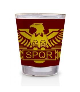 Copo de Licor Legião Romana SPQR