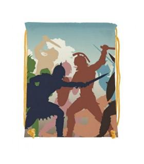 Mochila de cordas Luta de Gladiadores (34x42 cms.)