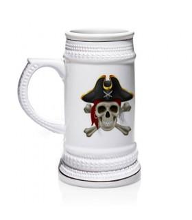 Jarro de cerveja Piratas do Caribe