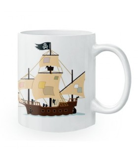 Caneca de Cerâmica Piratas
