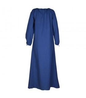 Vestido medieval Ana, azul
