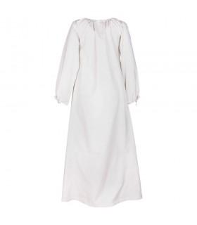 Vestido medieval Ana, branco