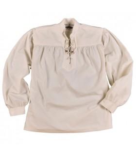 Camisa branca pirata Ludwig