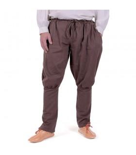 Calças vikings Olaf, marrom