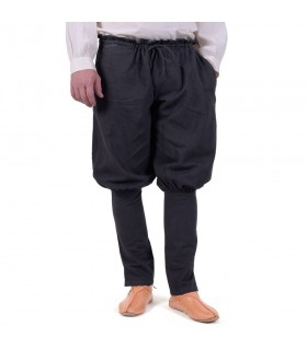 Calças vikings Olaf, preto