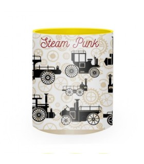 Caneca de Cerâmica Steam Punk