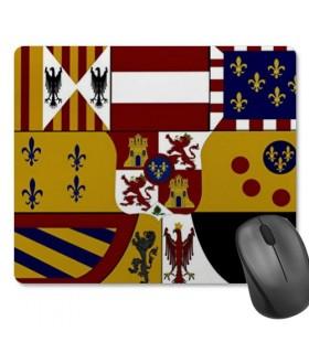 Escudo retangular retangular para mouse pad (23,5 x 19,5 cm)