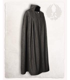Camada medieval pescoço alto, lã